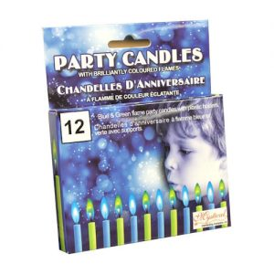 BOY PARTY CANDLES